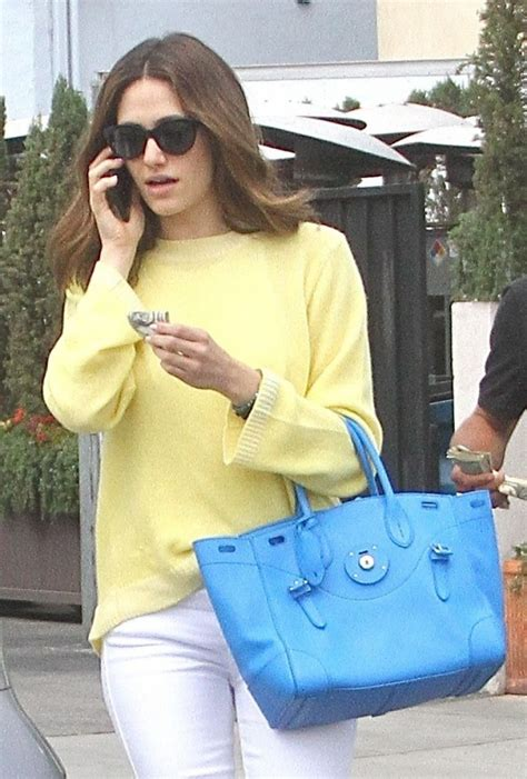 emmy rossum vancouver emmy rossum style leaving il pastaio restaurant in la