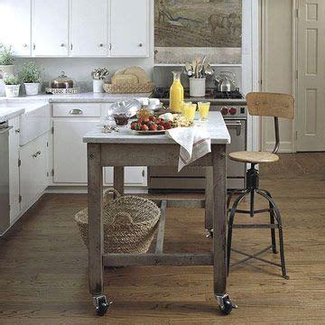 portable kitchen island ideas  pinterest