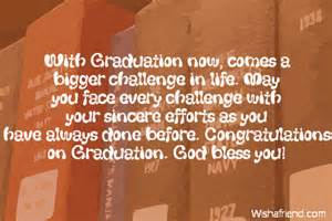 with graduation now comes a bigger graduation message