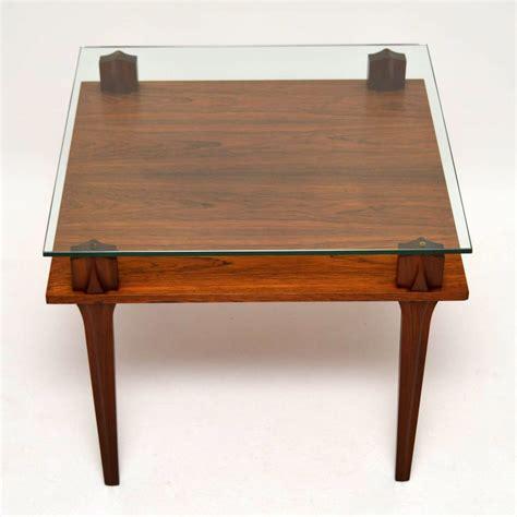 Retro Glass Coffee Table Retro Teak Glass Coffee Table Vintage 1960 S Retrospective Interiors Vintage Furniture
