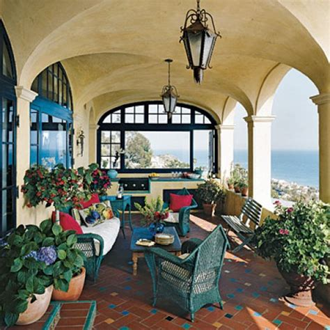 Mediterranean Style Home Decor Mediterranean Patios Pergolas Stucco Terraces Water Fountains And More Dengarden