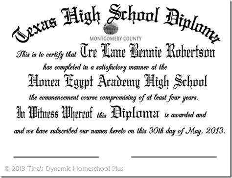 homeschool diploma template day 9 editable high school diploma 10 days of planning a
