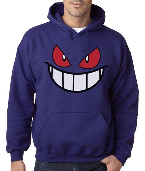 Jaket Hoodie Zipper Sweater Gengar Pocket gengar sweatshirt sweater jacket