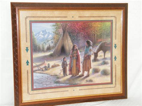 home interiors and gifts framed home interiors gifts wooden framed indian family by river