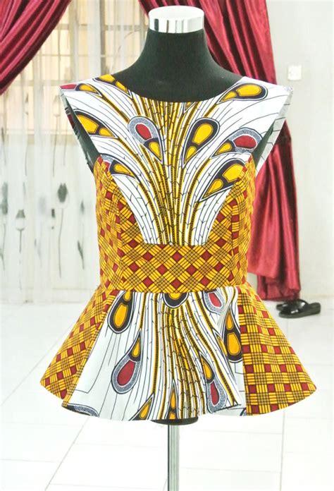 ankara blouses mixed african print peacock blouse ankara tops peplum
