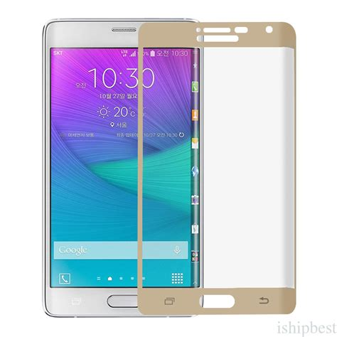 Tempered Glass Note Edge tempered glass cover screen protector for samsung