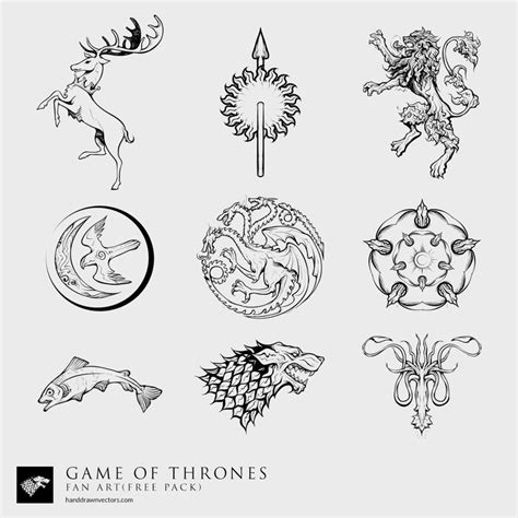 edinburgh tattoo game of thrones game of thrones fan art 23 vectors free download new