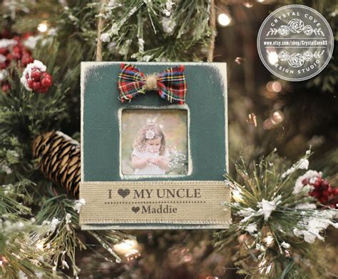 uncle christmas gift personalized ornament for uncle from