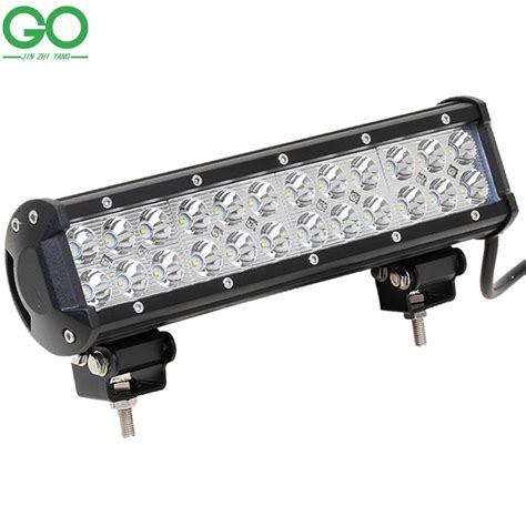 Led Lightlu Hias 40 Led Warna 72w cree led work light bar for indicators offroad boat car tractor truck spot flood combo beam