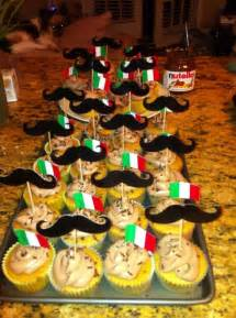 Italian Themed Party Decoration Ideas - nutella cupcakes italian themed party birthday party dinner party party ideas pinterest