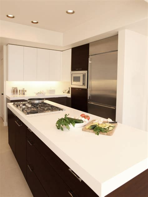 White Solid Surface Kitchen Countertops Solid Surface Countertops Pictures Ideas From Hgtv Hgtv