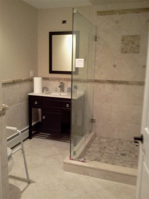 smallest ada bathroom a small ada compliant bathroom contemporary bathroom