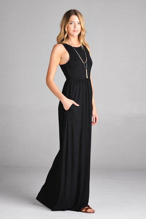 Simple Basic Maxy By Unique best 25 black maxi dresses ideas on wedding