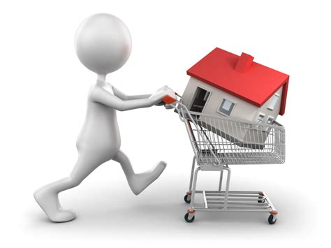 Buying A house in shopping cart defoor realty
