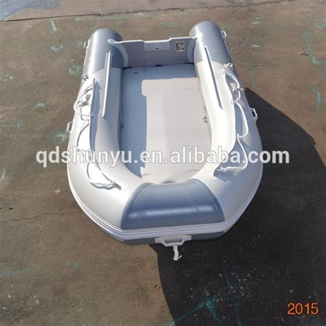 inflatable boat korea ce11ft korea pvc fabric inflatable boat with air mat floor