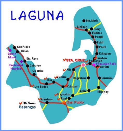 map of laguna santa laguna philippines pictures and and