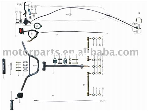 peace sports 50cc scooter wiring diagram wiring diagram