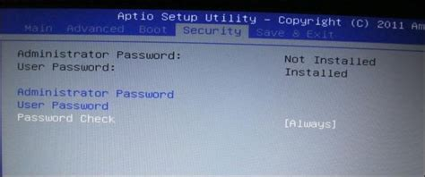 reset bios uefi password how to secure your computer with a bios or uefi password