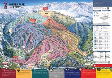 usa ski resort map winter park ski holidays usa in winter park ski resort
