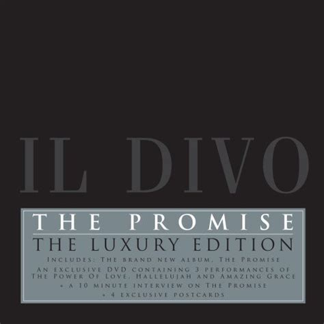 il divo cd the promise il divo アルバム