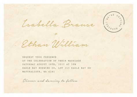 Raised Letter Wedding Invitation Raised Foil Wedding Invitations Wedding Invites Cards