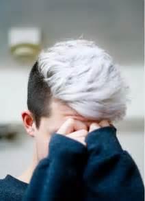 dye for black boy hair 男生烟灰色 银灰色 亚麻色头发图片 6p 发型图片网