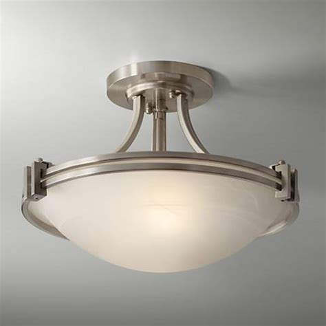 possini lighting possini design nickel 16 quot wide ceiling light fixture 86200 ls plus