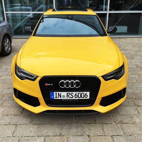 audi rs6 avant in speed yellow speedgelb at audi forum