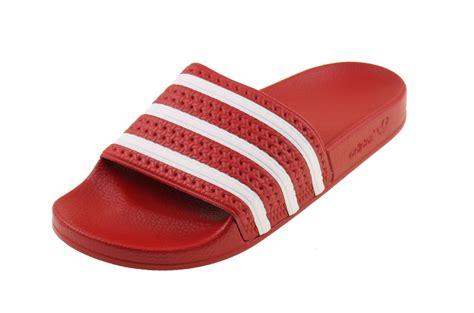 badslippers adidas adidas adilette classic badslippers rood wit online kopen