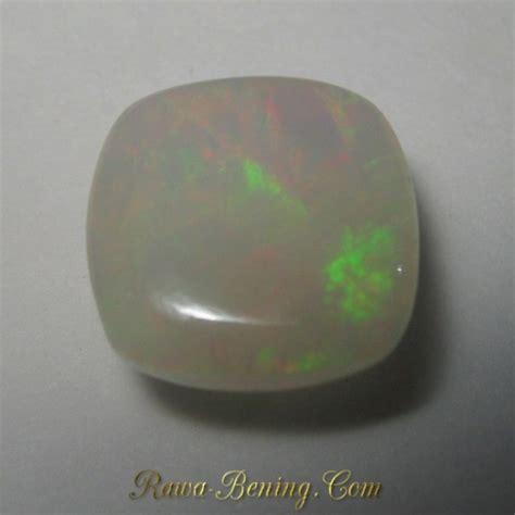 Opal Kalimaya Cutting jual batu mulia opal asli bentuk cushion cut 3 06 carat