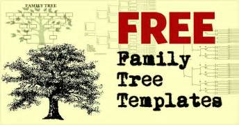 Free Templates For Family Trees by Family Tree Template Family Tree Template Photos Free