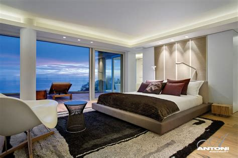 Mansion Bedrooms | world of architecture clifton view mansion by antoni associates cape town south africa