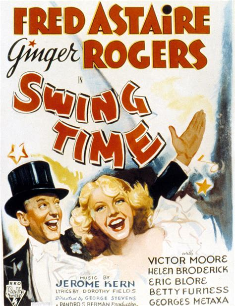 movie swing time swing time fred astaire ginger photograph by everett