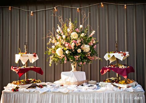 Lisa Foster Floral Design Large Flower Arrangements For Buffet Table Setting Arrangement