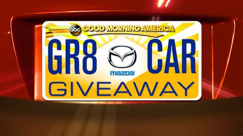 Abc Com The View Giveaway - the great gma car giveaway contest official rules abc news