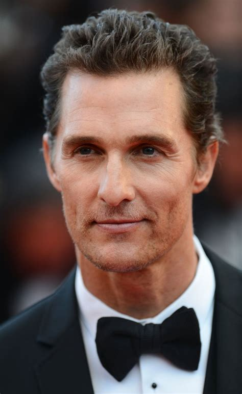 american actors with receding hairline matthew mcconaughey talks hair loss