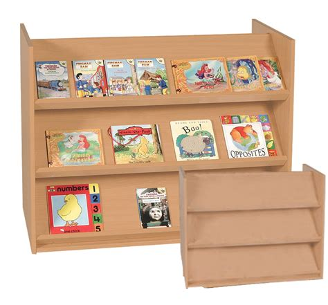 e4e sided display bookcase