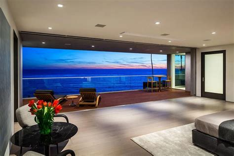 living room interior design  sea view architecture