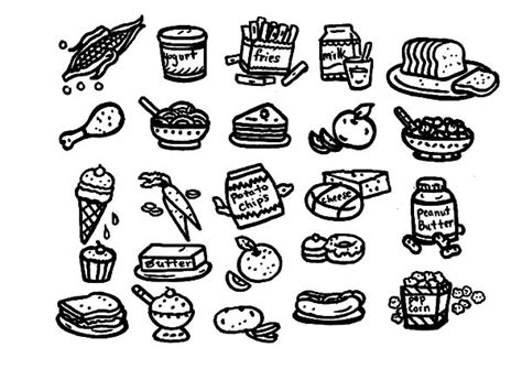 healthy color pictures coloring pictures of healthy and unhealthy foods