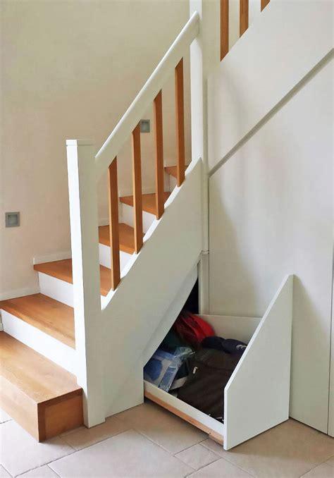 treppe mit stauraum treppe mit pfiff holztreppe mit treppenunterbau