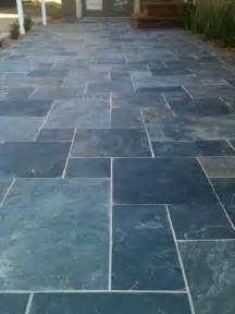 slate floor tiles contemporary patio