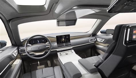 lincoln navigator interior 2016 lincoln navigator concept revealed ford authority