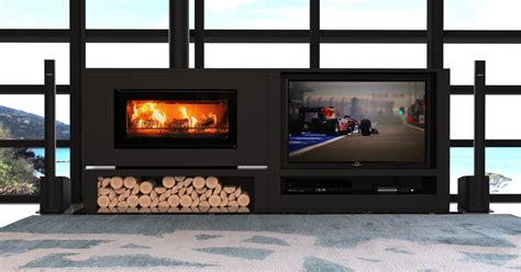 fireplace tv cabinet the fireplace introduces new side by side tv and fireplace
