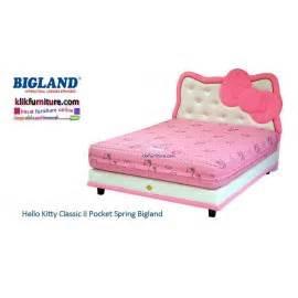 Ranjang Bigland hello anak furniture lemari ranjang springbed meja