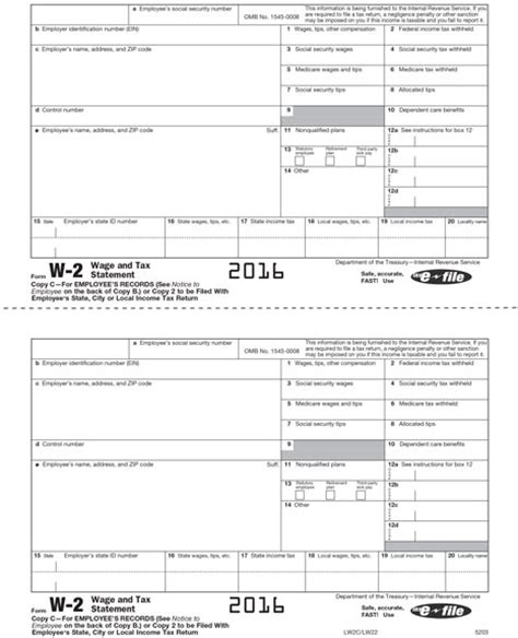 Printable W 4 Tax Form Newhairstylesformen2014 Com 2016 W2 Form Template
