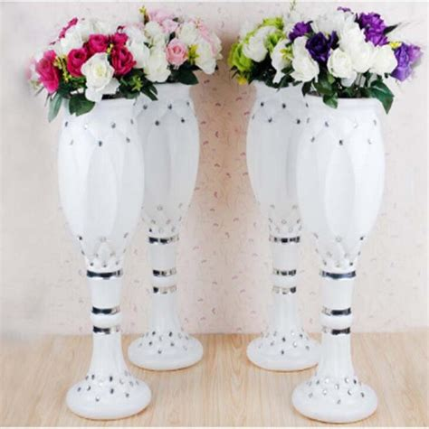 cheap plastic vases for centerpieces vases awesome plastic wedding vases plastic silver vases