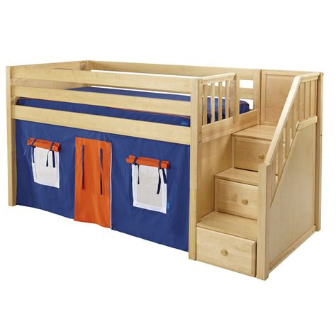 playhouse loft bed maxtrix great playhouse loft bed in natural w stairs