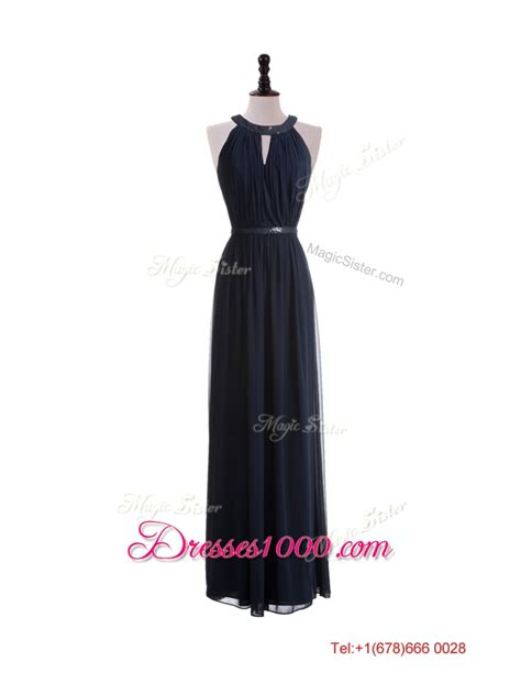 T2b A List Belted Empire Halter Dress by 2016 Beautiful Empire Halter Top Prom Dresses With Belt