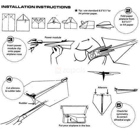 how to make a motorized paper airplane 28 images power