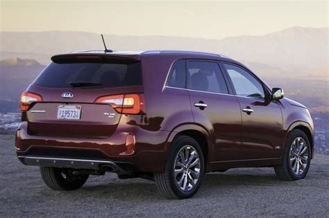Value Kia Used Cars 2014 Kia Sorento Review Car Reviews New Car Prices And